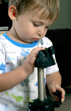 Young photography boy
